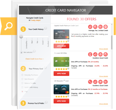 Credit Card Navigator - Credit-Land.com