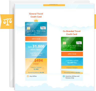 Airlines or Travel Rewards Card - Credit-Land.com