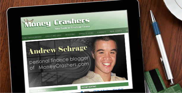 Personal finance blogger Andrew Schrage of MoneyCrashers.com