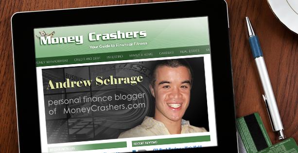 Personal finance blogger Andrew Schrage of MoneyCrashers.com