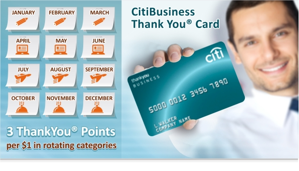 Thank you points citi bank myideasbedroomcom for Www citibusinesscard com