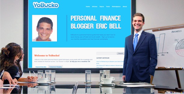 Personal finance blogger Eric Bell of YoBucko.com