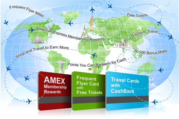 Flying Free With Frequent-Flyer Rewards Credit Cards