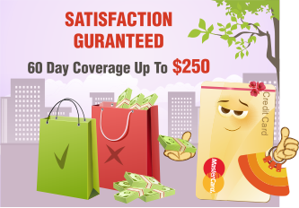MasterCard: Satisfaction Guarantee - 60 Day Coverage Up To $250
