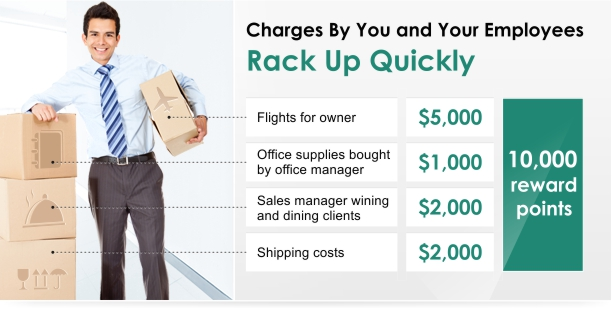 Charges by you and your employees rack up quickly