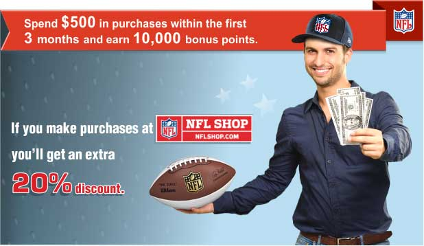 Spend $500 in purchases within the first 3 months and earn 10000 bonus points!