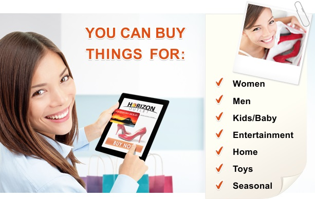 Buy things for: Women, Men, Kids/Baby, Entertainment, Home, Toys, Seasonal