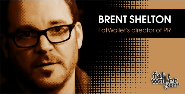 Brent Shelton - FatWallet's Director of PR Interview