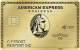 American Express: Business Gold Rewards Card