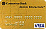 Commerce Miles Gold Visa®