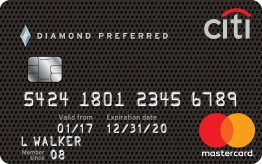 Citi<sup>®</sup> Diamond Preferred<sup>®</sup> Card