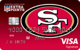 San Francisco 49ers Extra Points Credit Card