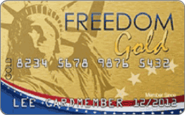 Freedom Gold Card