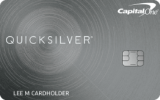 Capital One®: Capital One® Quicksilver® Cash Rewards Credit Card