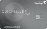 Capital One®: Capital One® QuicksilverOne® Cash Rewards Credit Card
