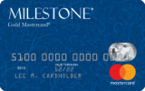 Milestone® Mastercard® with Choice of Card Image at No Extra Charge