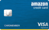 Amazon Rewards Visa Signature Card by Chase