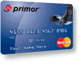 primor® Secured Classic MasterCard Card