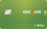 Discover it® Miles – Unlimited 1.5x Rewards Card