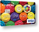 Credit One® Platinum Visa® Rewards Credit Card