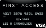 The Bank of Missouri - First Access Visa® Solid Black Credit Card
