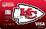 Kansas City Chiefs Extra Points Credit Card