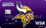 Minnesota Vikings Extra Points Credit Card