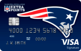 New England Patriots Extra Points Credit Card