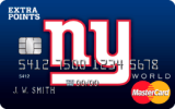 New York Giants Extra Points Credit Card