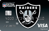 Oakland Raiders Extra Points Credit Card