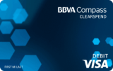 BBVA Compass ClearSpend Visa®