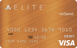 Bronze ACE Elite™ Visa® Prepaid Debit Card