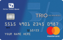 TRIO® Credit Card from Fifth Third Bank
