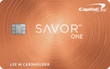 Capital One® - Capital One® SavorOne® Cash Rewards Credit Card
