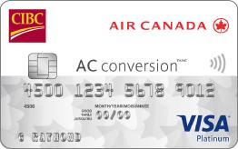 Apply for CIBC Air Canada® AC conversion™ Visa* Prepaid Card