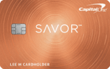 Capital One® - Capital One® Savor® Cash Rewards Credit Card
